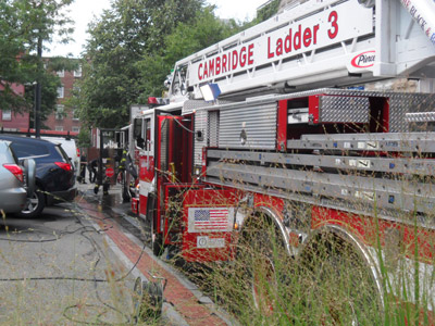 Aug 2, 2012 Annex Fire