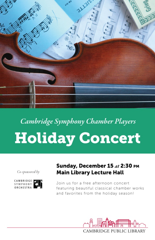 Cambridge Symphony - Dec 15, 2013