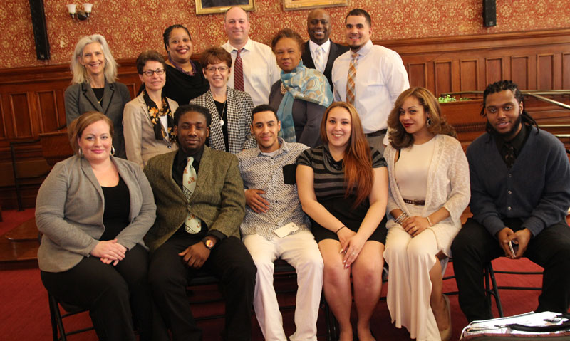 Cambridge Works Graduates with Cambridge city staff and officials