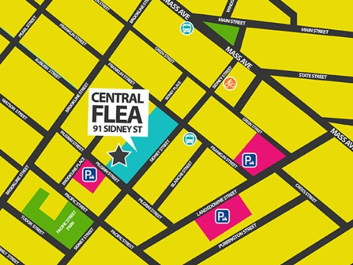 Central Flea Directions