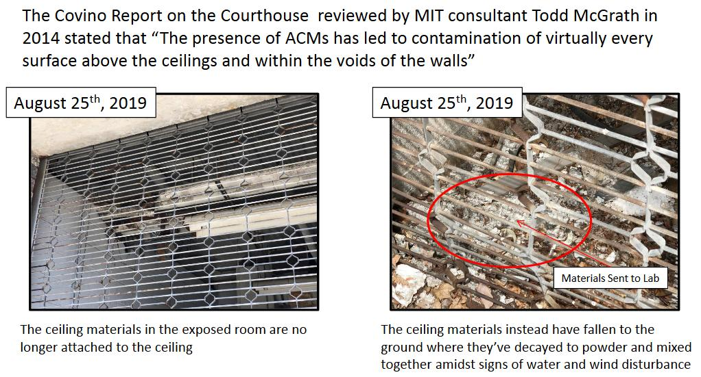 Courthouse Asbestos - Aug 2019