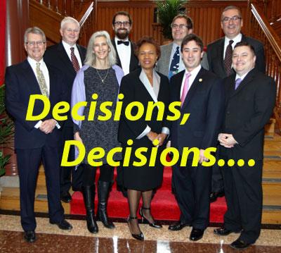 Decisions, Decisions....