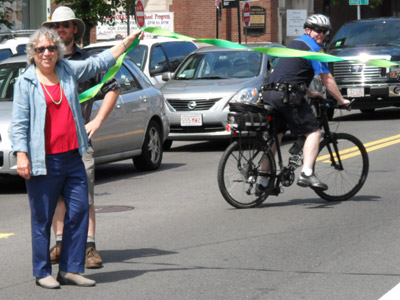 Cambridge Hubway Ribbon-Cutting