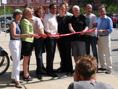 Somerville Hubway Ribbon-Cutting