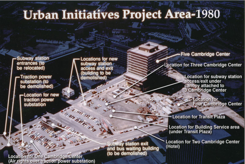 Urban Initiatives Project Area - 1980