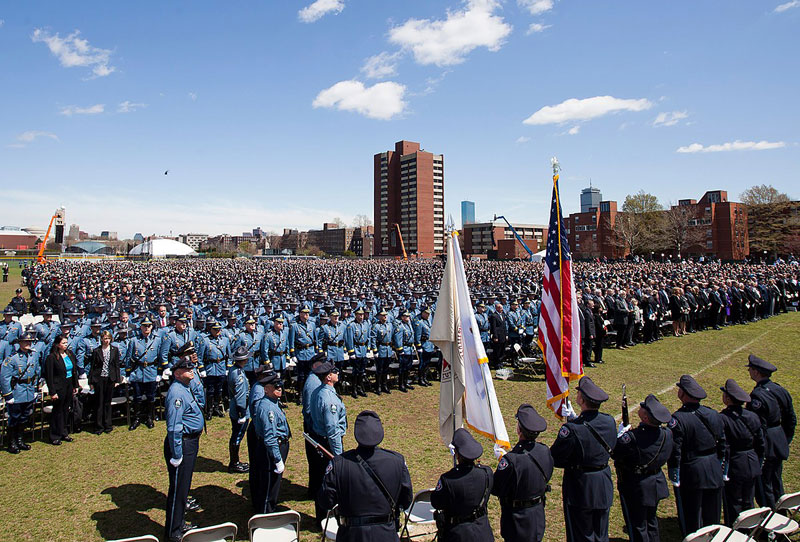 MIT memorial for Sean Collier - April 24, 2013