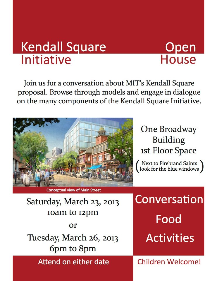 MIT/Kendall Open House