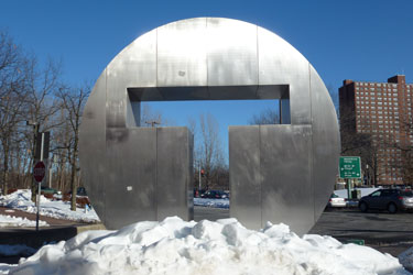 Alewife T Sculpture
