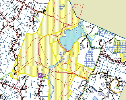 A Walk in Cambridge's Watershed | Cambridge Community Television Cat Rock Park Trail Map on