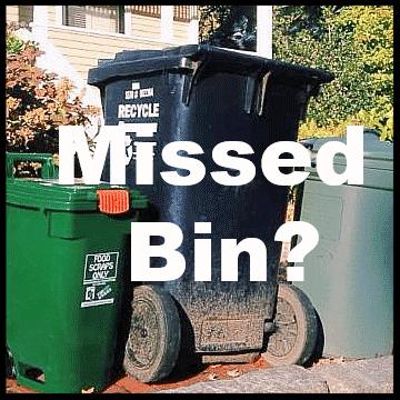 Missed bin?