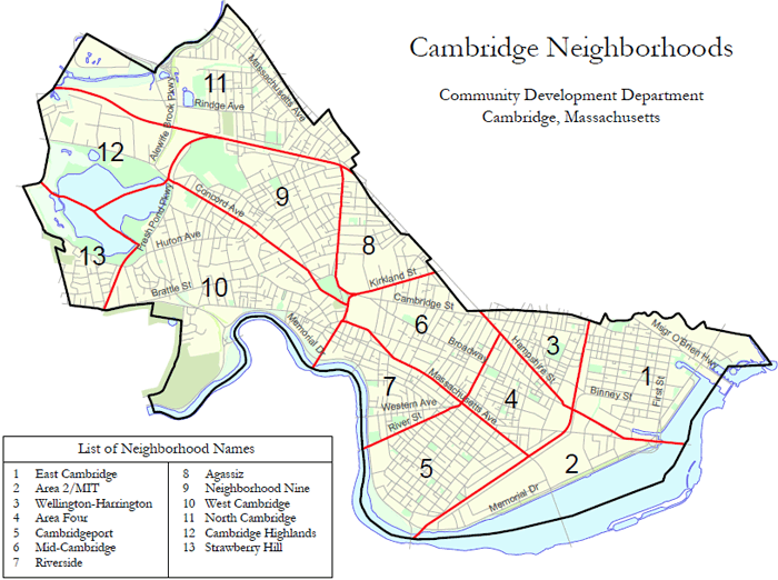 Cambridge Neighborhoods