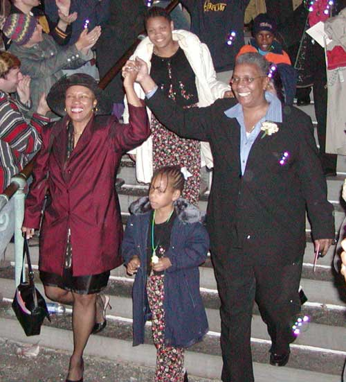 City Councillor Denise Simmons and Family - May 17, 2004