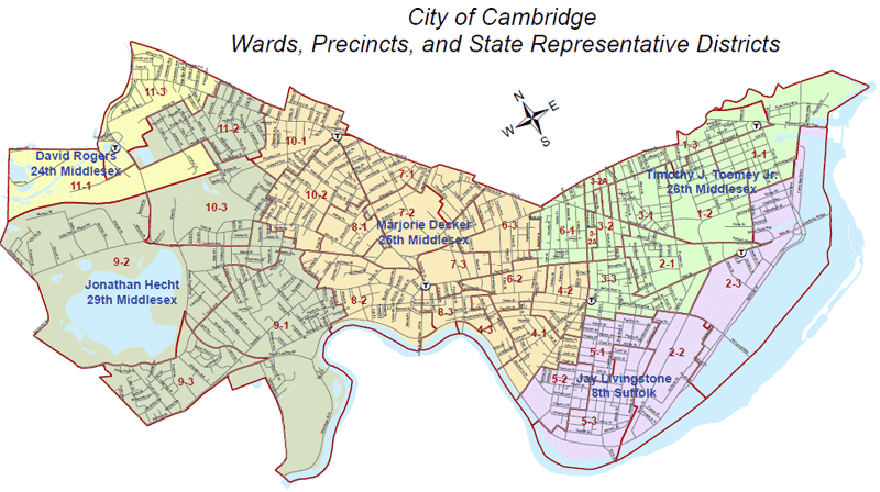 State Rep. Districts - Cambridge