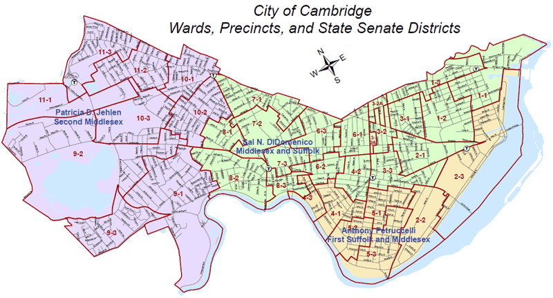 State Senate Districts - Cambridge