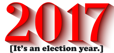 2017 - It's an Election Year!